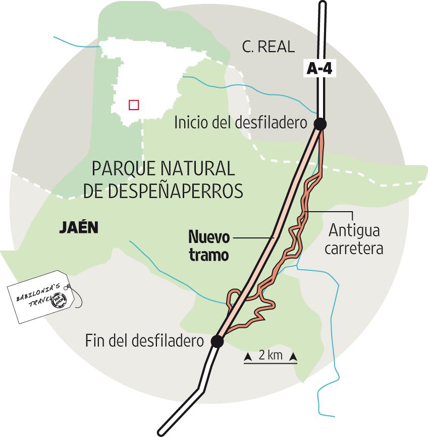 Localizador del Puerto de Despeñaperros
