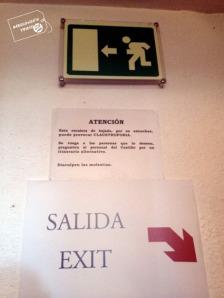 salida del castillo de Manzanares el Real