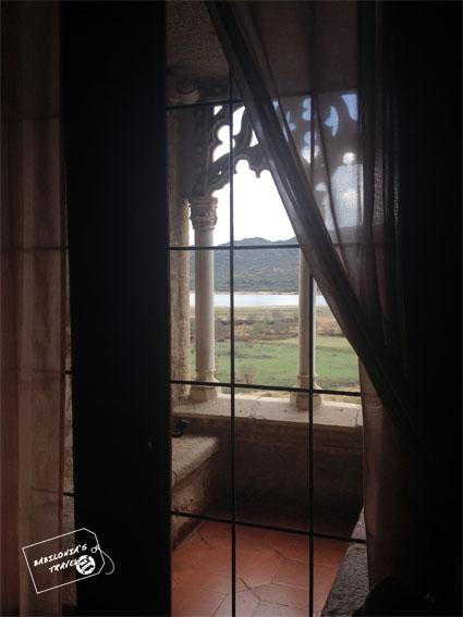 Ventana castillo Manzanares el Real